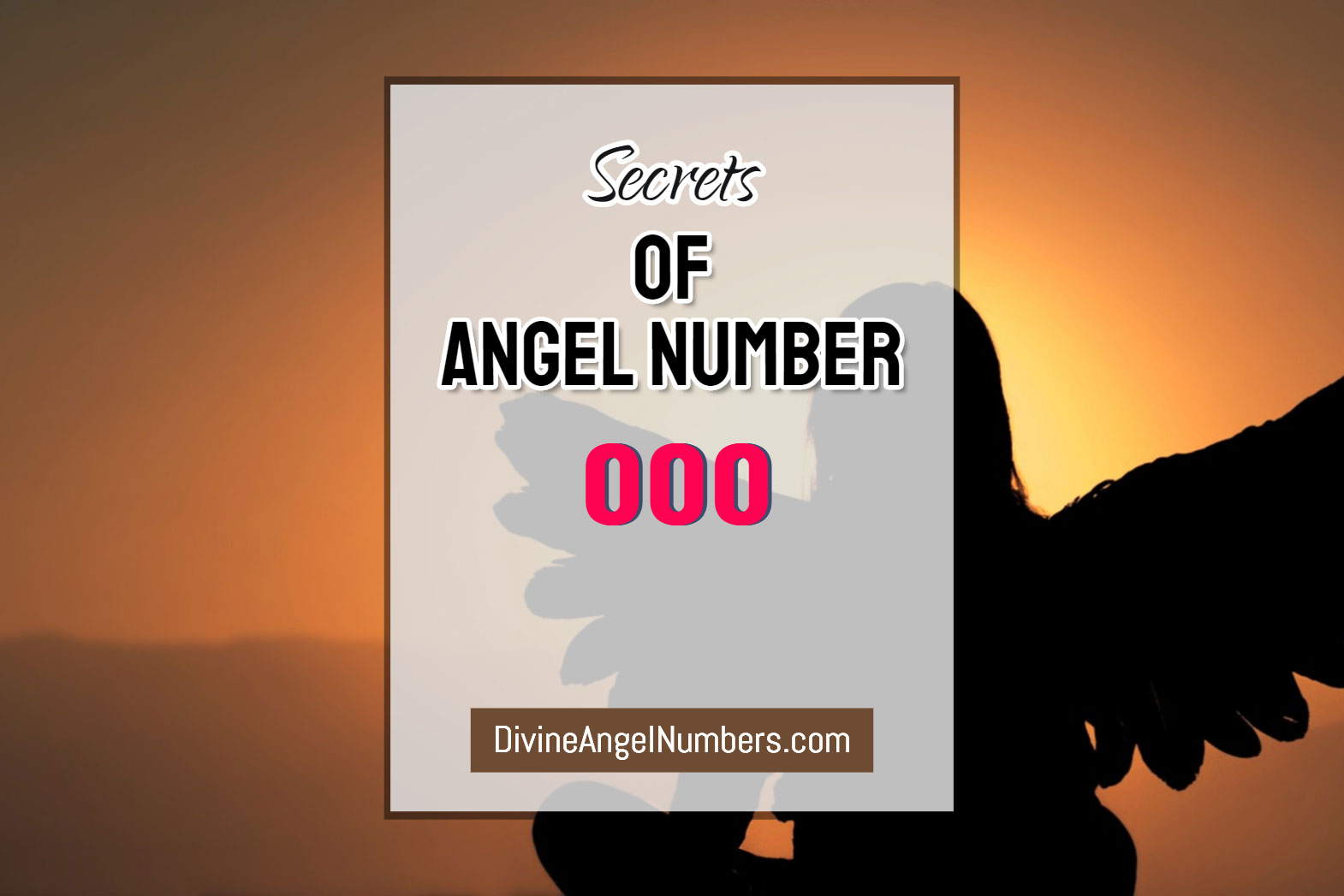 7 Reasons Why You Are Seeing 000 Angel Number : Meaning Of 000