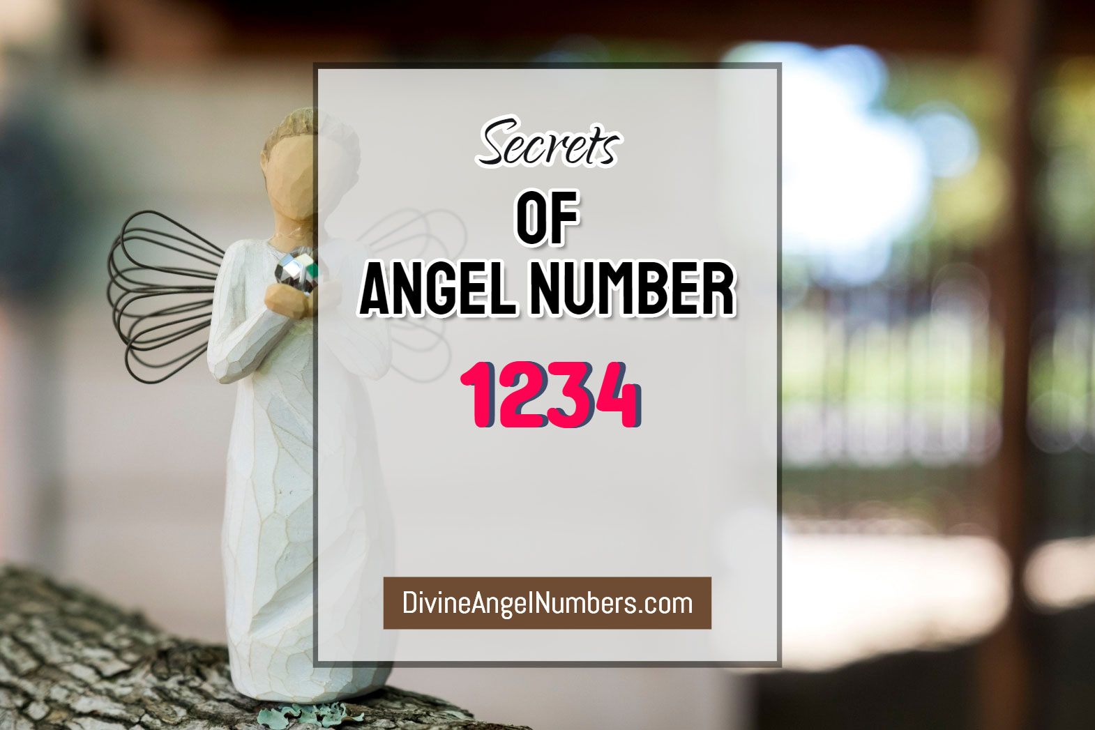 6 Reasons Why You Are Seeing Angel Number 1234 - Meaning Of 1234