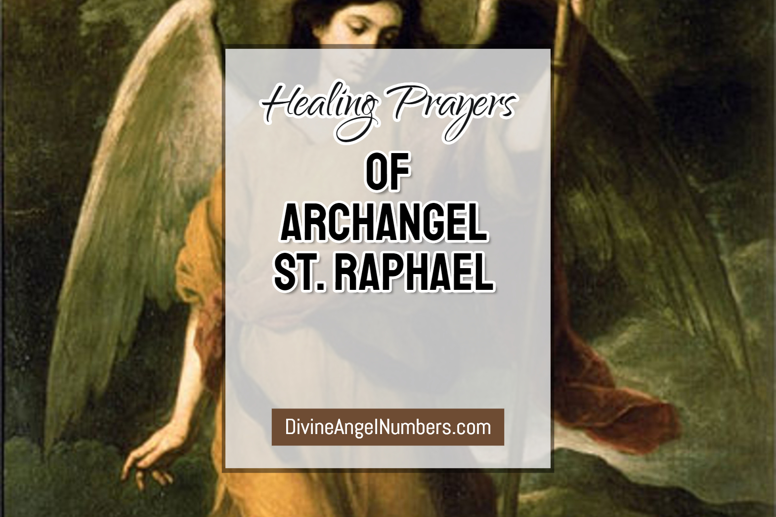Archangel Raphael prayers for healing