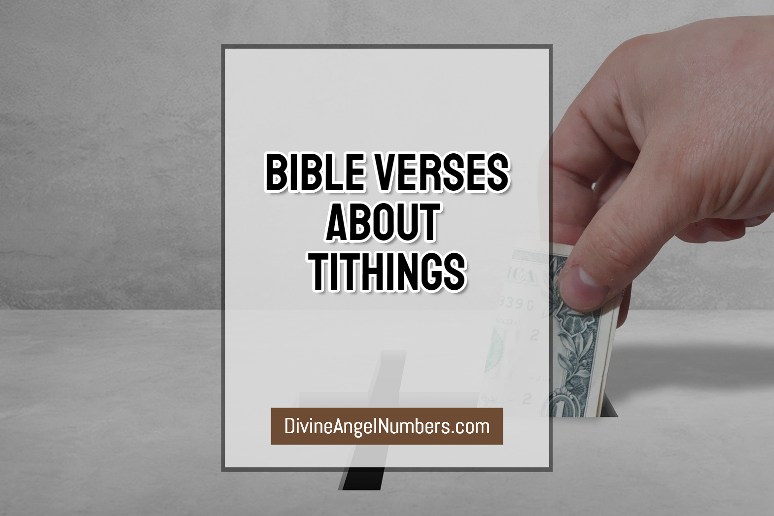 Motivating Bible Verses About Tithing And Offerings