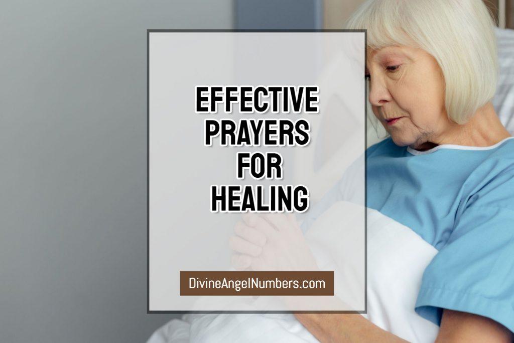 Effective Prayer for Healing