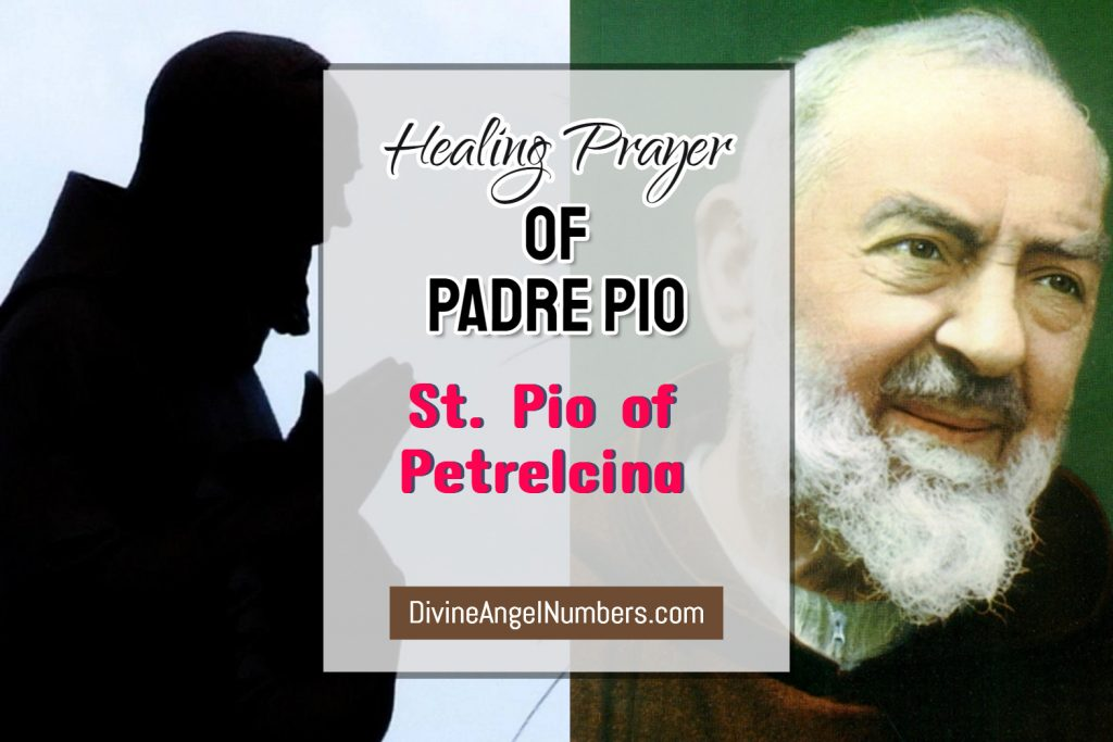 Miraculous Padre Pio Prayer for Healing