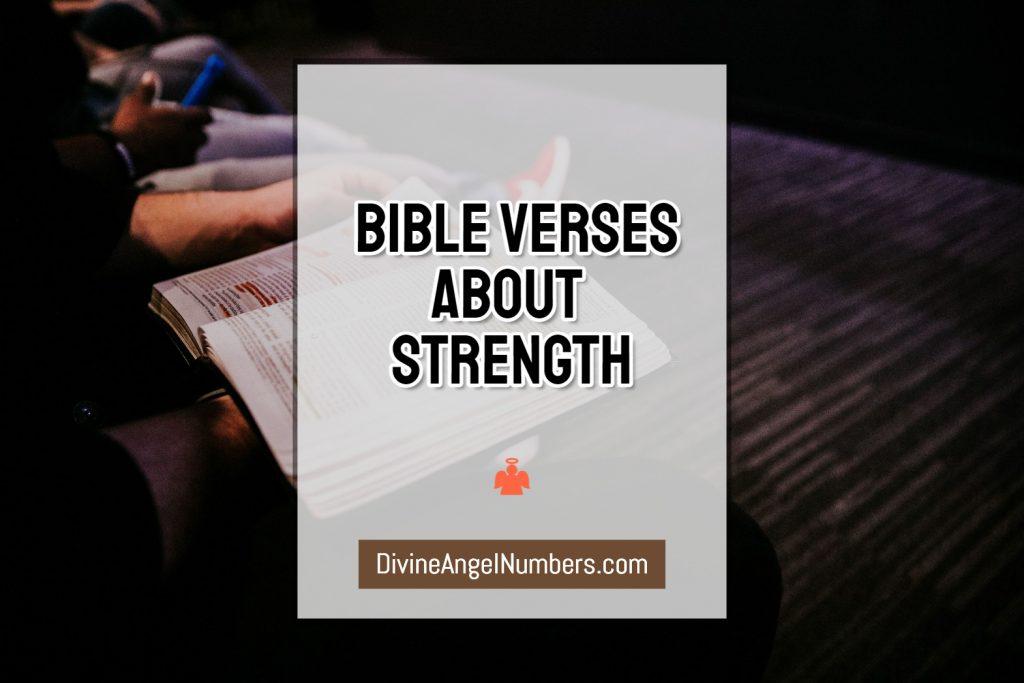 Inspiring Bible Verses About Strength