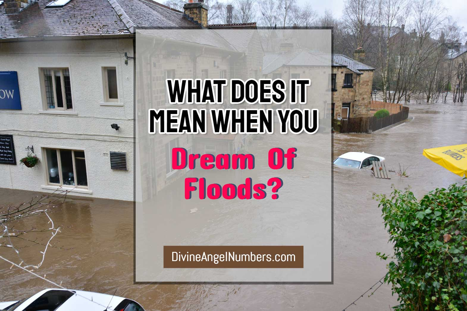 Dream About Flood: Interpretation & Meaning
