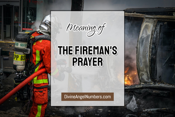 The Fireman's Prayer for Firefighters and Spouses