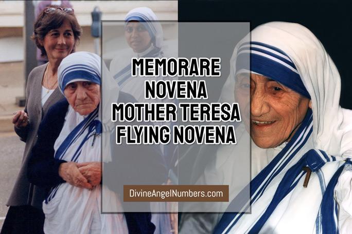 Memorare Novena: Mother Teresa Flying Novena