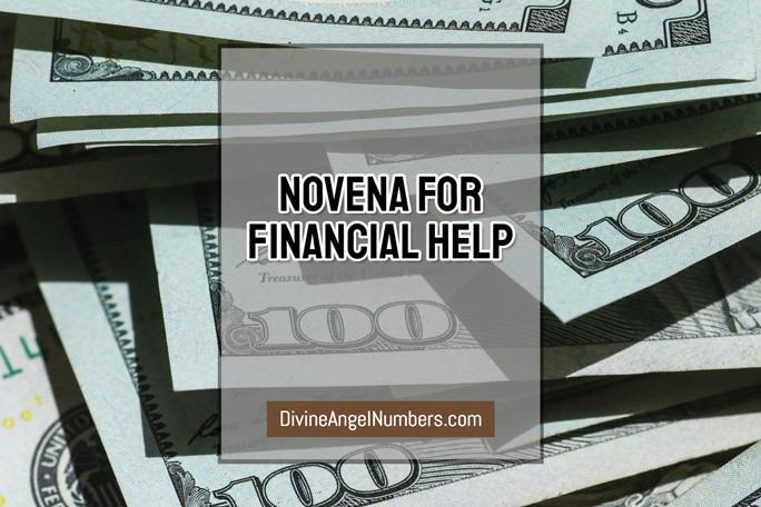 Novena for Financial Help