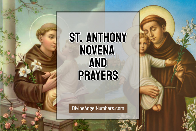 St. Anthony Novena for lost things, lost souls, lost people!