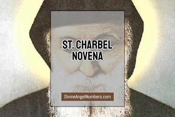 St. Charbel Novena