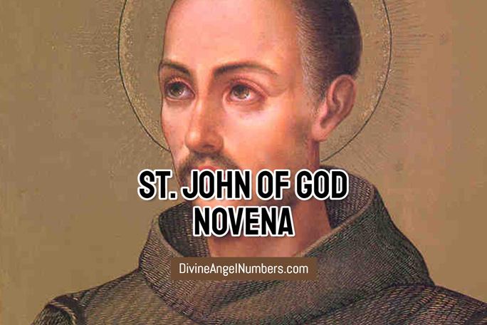 St. John of God Novena