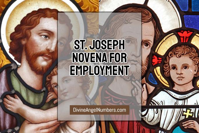 St. Joseph Novena for Employment