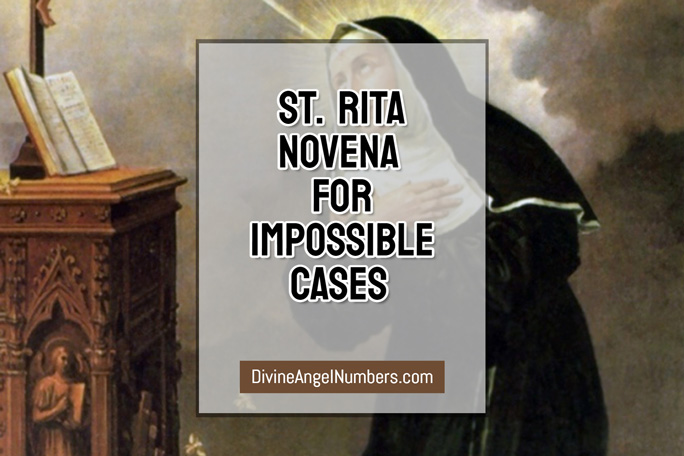 St. Rita Novena for Impossible cases: Relief in 9 days!