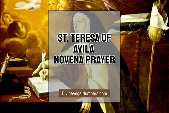 St. Teresa of Avila Novena