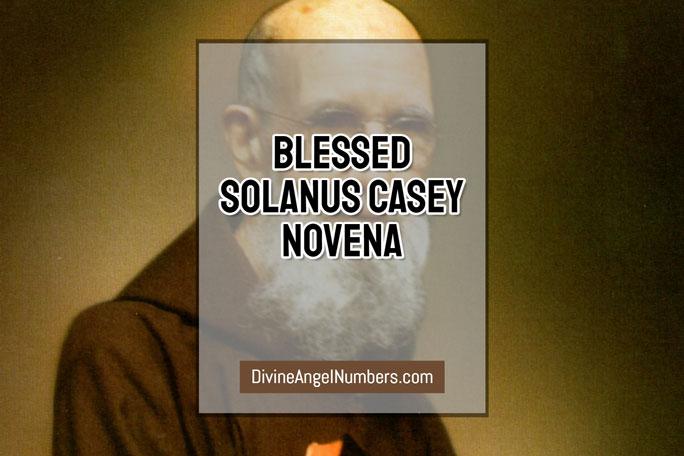 Blessed Solanus Casey Novena