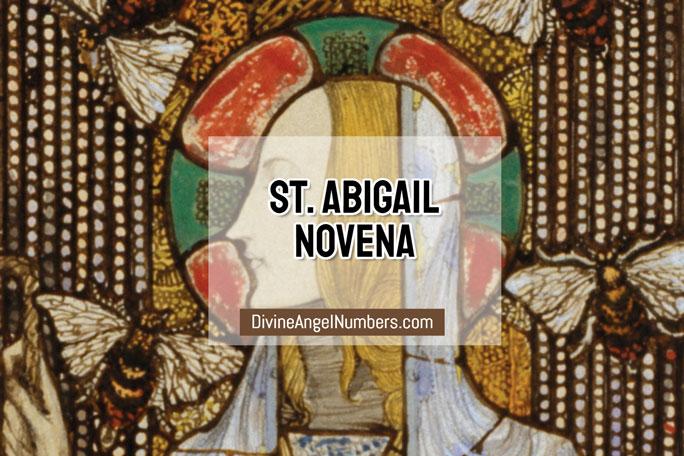 St. Abigail Novena