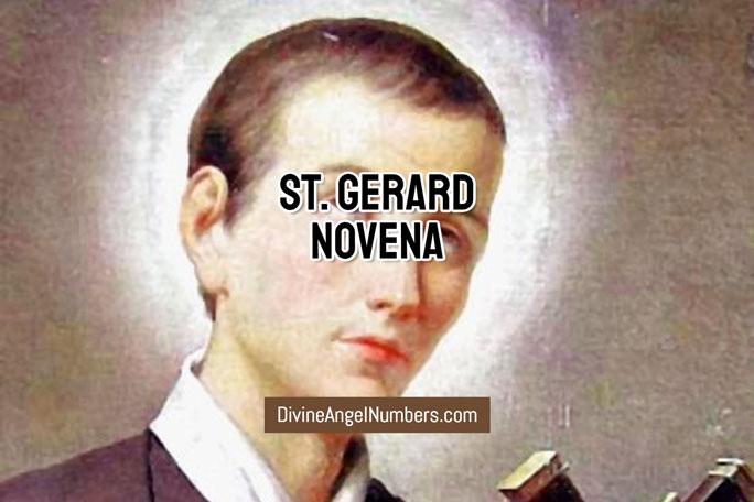 St. Gerard Novena