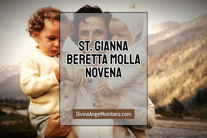 St. Gianna Beretta Molla Novena
