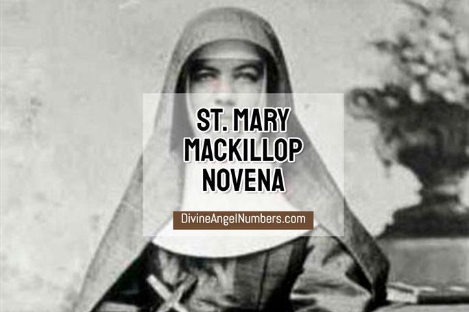 St. Mary Mackillop Novena