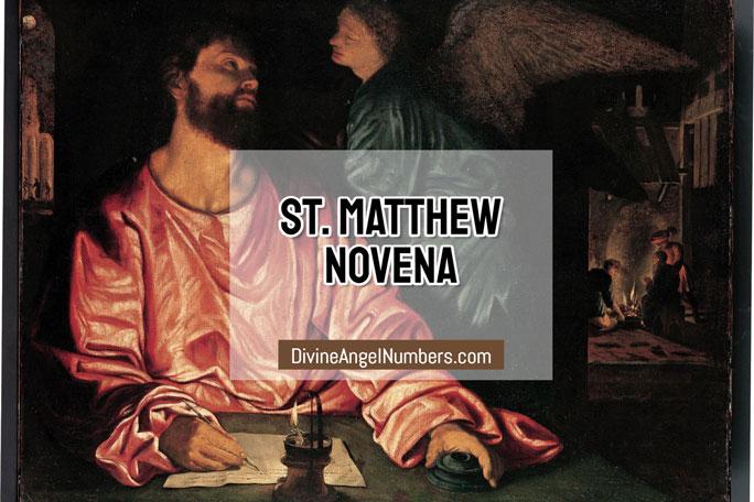 St. Matthew Novena