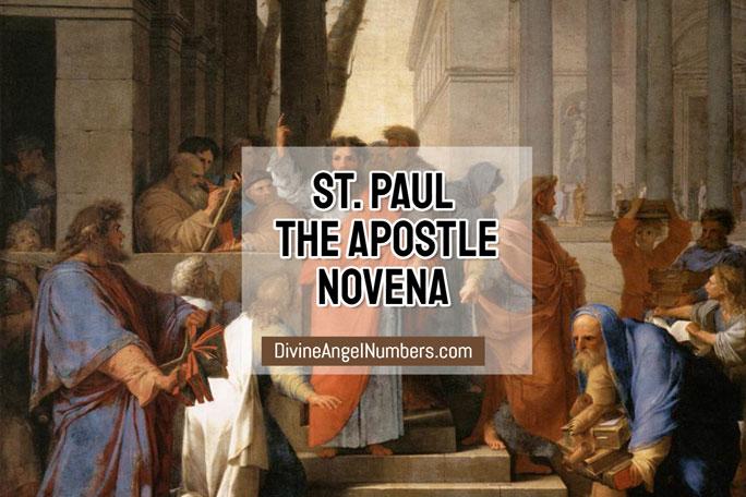 St. Paul Novena for Spiritual Conversion