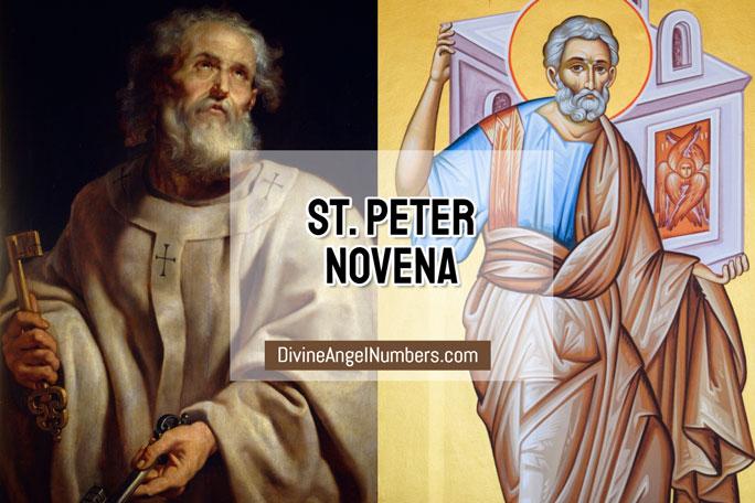 St. Peter Novena