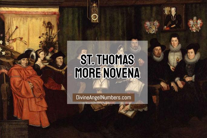 St. Thomas More Novena