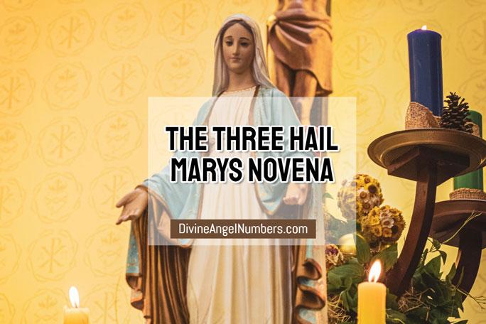 The Three Hail Marys Novena
