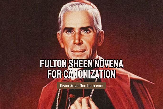 Fulton Sheen Novena For Canonization