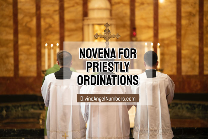 Novena for Priestly Ordinations