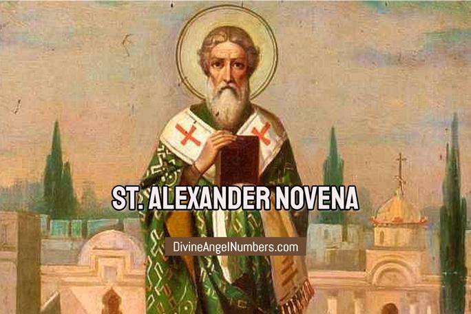 St. Alexander Novena