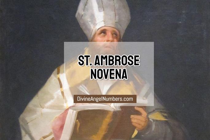 St. Ambrose Novena