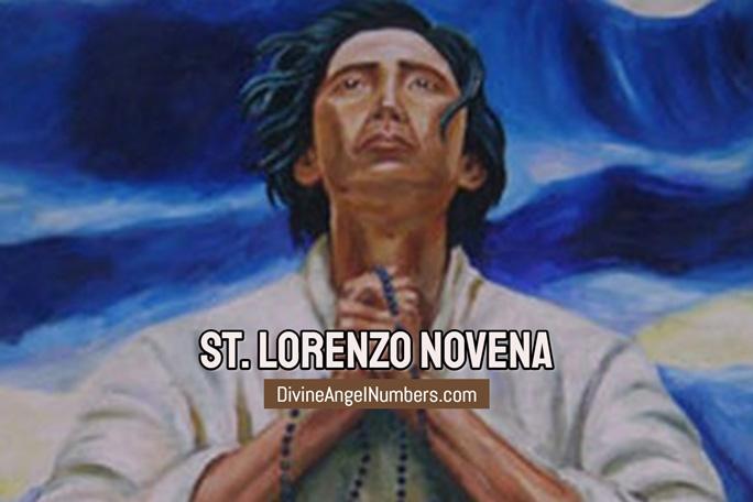 St. Lorenzo Novena