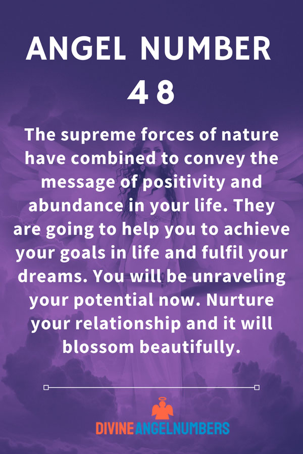 Angel Number 48: Forces for nature will help you realise your potential