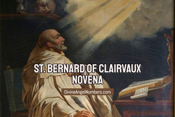 St. Bernard of Clairvaux Novena